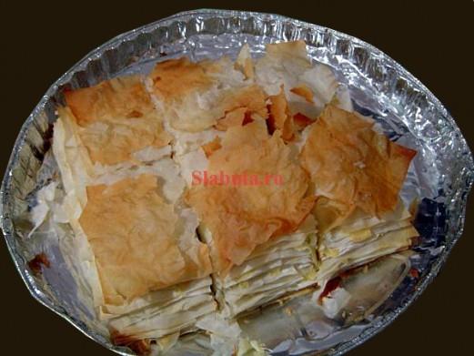 placinta1 521x391 Placinta dietetica (foietaj) cu cartofi