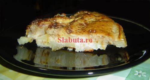 prajitura mere Tarta de mere dietetica
