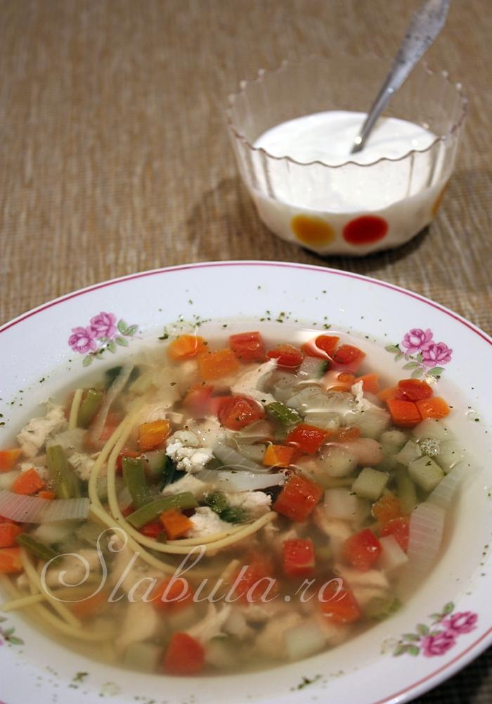 supa dietetica pui Supa dietetica de pui