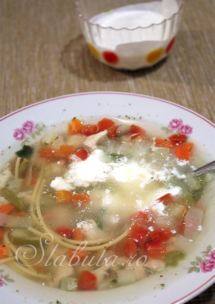 supa pui Supa dietetica de pui
