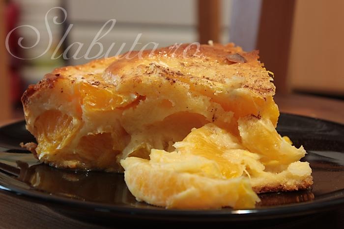 tarta portocale Tarta dietetica cu portocale
