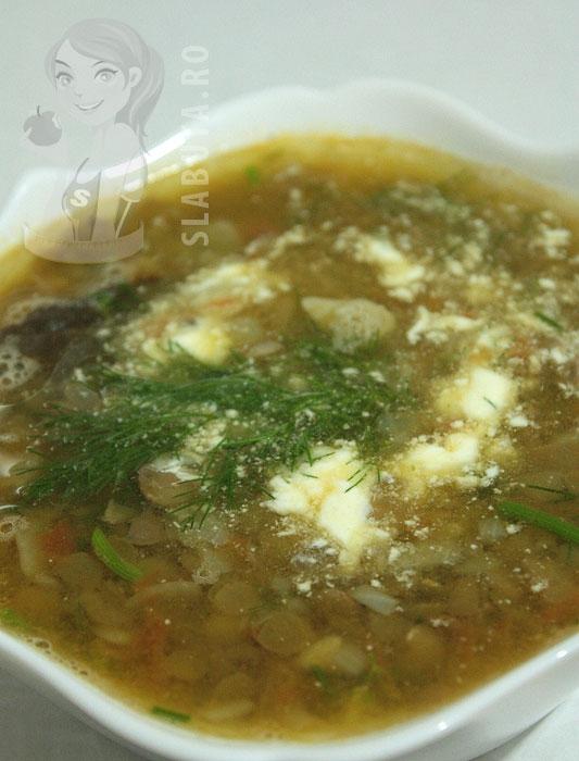 supa linte Supa de linte, bio