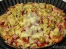 pizza seminte in 130x98 Pizza Slabuta cu blat din seminte de in