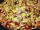 pizza seminte in detaliu 130x98 Pizza Slabuta cu blat din seminte de in