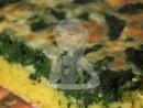tarta mamaliga spanac 03 130x98 Tarta (cu blat de mamaliga) cu spanac, branza de burduf si mozzarella Slabuta
