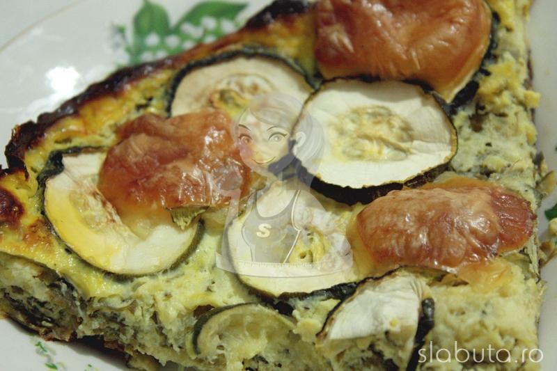 zucchini pie detaliu Zucchini Pie (placinta cu zucchini) Slabuta
