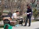 adella voluntar campanie pentru dreptul la o viata sanatoasa 130x98 Strangere semnaturi in Parcul Lumea Copiilor