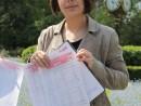 diana formulare completate cu semnaturi 130x98 Strangere semnaturi pentru Prima Petitie Nationala pentru dreptul la o viata sanatoasa, in Parcul Cismigiu
